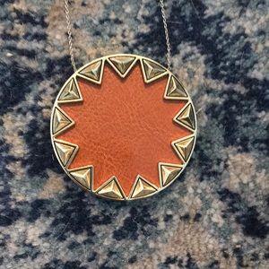 House of Harlow Large Sunburst Necklace